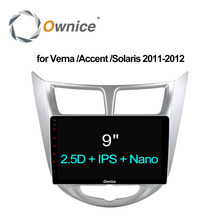 Ownice C500 + Android 6,0 Octa Core радио автомобиль плеер для hyundai Solaris accent Verna 2011 2012 navi gps 2 ГБ Оперативная память 32 ГБ Встроенная память 4 г LTE