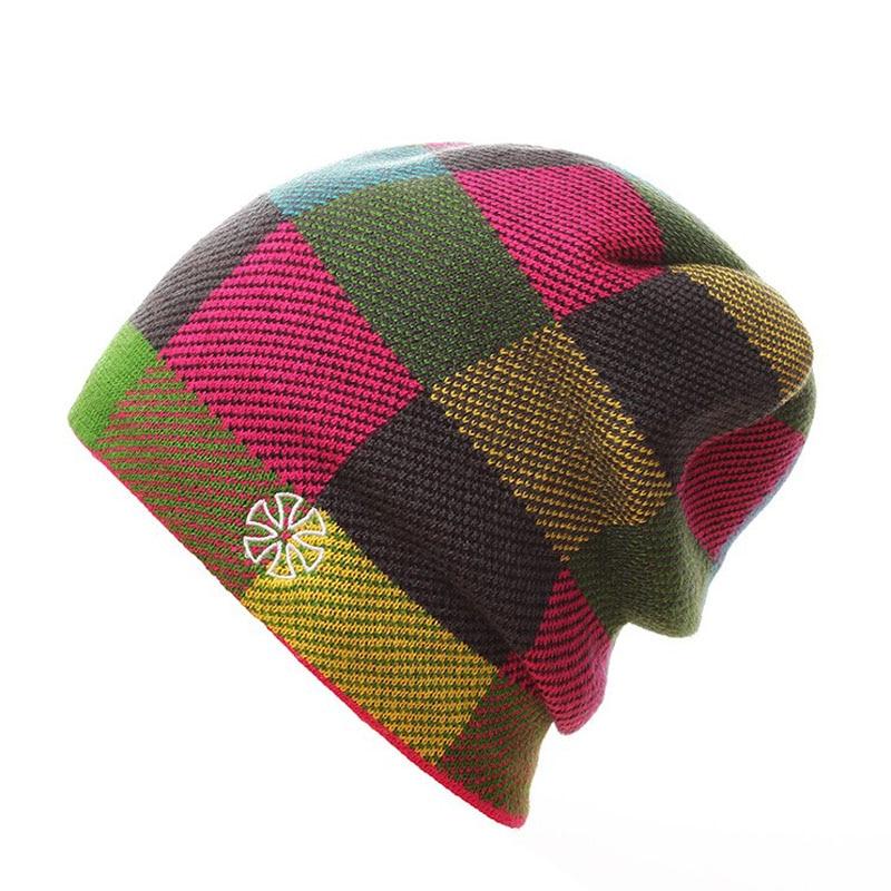 2018 Winter Hats Men Sports cap Skiing hat Warm Winter Hats Men/Women Caps Hat