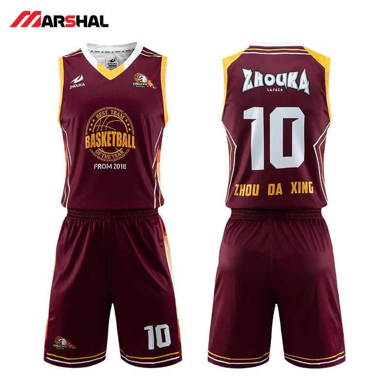 9d4798a9bb3 Wholesale Custom Sublimation Printing Jerseys Customized team indoor  basketball quick dry uniform logo design on line