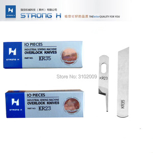 10piece STRONG H High quality SiRUBA 737 747 copy machine three-wire four-wire Upper Down Knife package sewing machine(China)