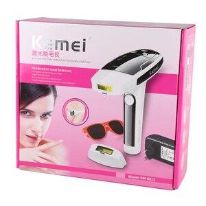 Image 5 - Permanent laser hair removal epilator women photo threading pulsed light machine device female face depilatory body depilation