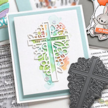 Religion Cross Shape Metal Cutting Dies Stencil Scrapbook Album Embossing For Gift Card Making Handcrafts 2019 new(China)