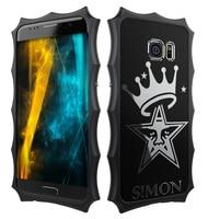 Orijinal SIMON TAÇ Serisi Vaka samsung Galaxy S7 Lüks tam Alüminyum Metal Kapak Kılıf samsung Galaxy S7 Telefon konut