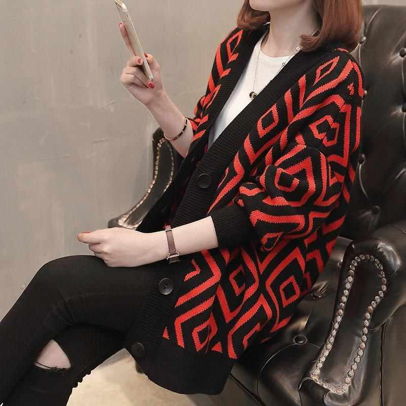 Nuovo Lusso Delle Donne di Marca Maglione 2019 Autunno Inverno Maglione Per Le Donne Del Progettista di Marca Maglione di Lana di Modo Lavorato A Maglia Maglione Femme