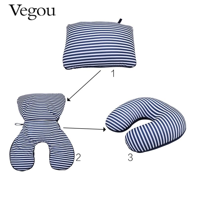 Vegou Brand Reversible Pillow 2 in 1 pillow Microbead