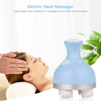 Electric Head Massager 3D Roller Anti Cellulite Slimming Massage Body Neck Massager Muscle Pain Relief Relax Health Care Tool