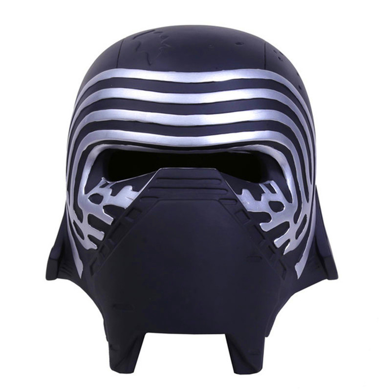 Star Wars Kylo Ren Adult Cosplay Mask Helmet 1:1 Resin Action Figure Collectible Model Toy Retail Box WU478 star wars stormtrooper helmet cosplay mask figure collectible model toy 1 1