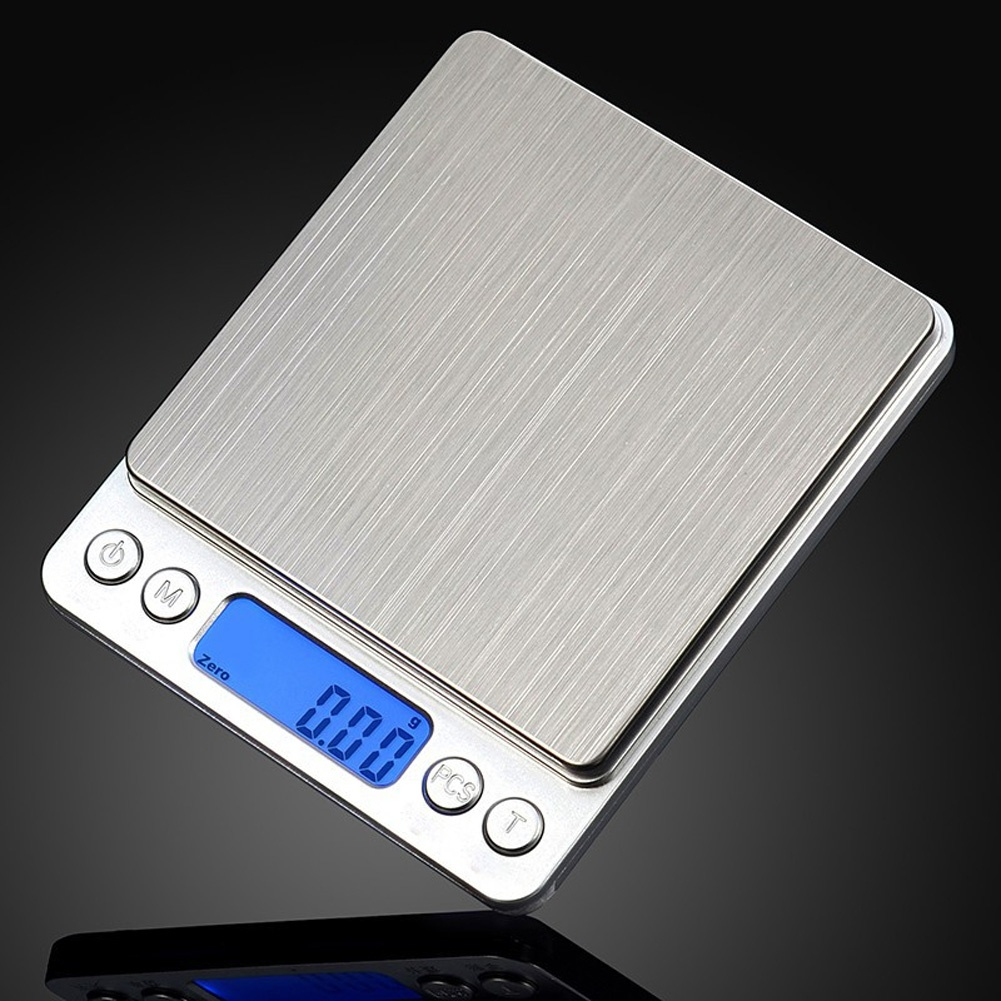 New 500g x 0.01g Portable Mini Electronic Digital Scales Pocket Case Postal Kitchen Jewelry Weight Balanca Digital Scale