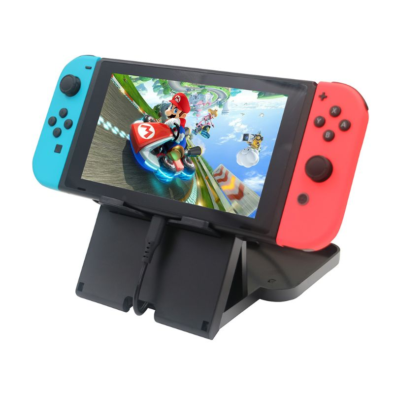 Playstand Multi-angle Stand Bracket Holder Adjustable Collapsible Compact Game Accessories for Nintend Switch NS Console Control
