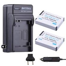 Kit de 2 batteries EL12 + chargeur pour Nikon Coolpix AW100 AW110 AW120 S9500 S9300 S9200 S9100 S8200 S6300 P330