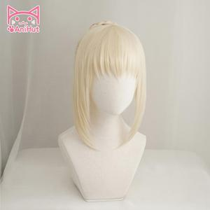 Image 3 - 【AniHut】Alter Saber Wig Fate Grand Order Cosplay Wig Synthetic Heat Resistant Hair Saber