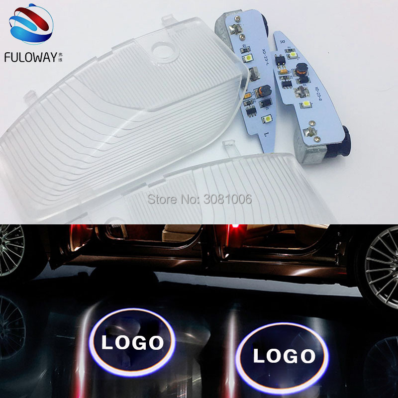 Car Door Welcome Lights For Mazda 6 Mazda6 09-14 LED Welcome Car Door Courtesy Shadow Logo Lights Projector Laser Ghost Shadow for most cars 2pcs led car door light courtesy logo laser projector punching ghost shadow lamp lights for cadillac logo