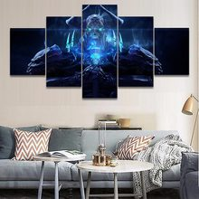 5 Pieces Anime Fate Grand Order King Hassan Poster Canvas Printed Pictures Home Decor Living Room Wall Art Modular Painting(China)