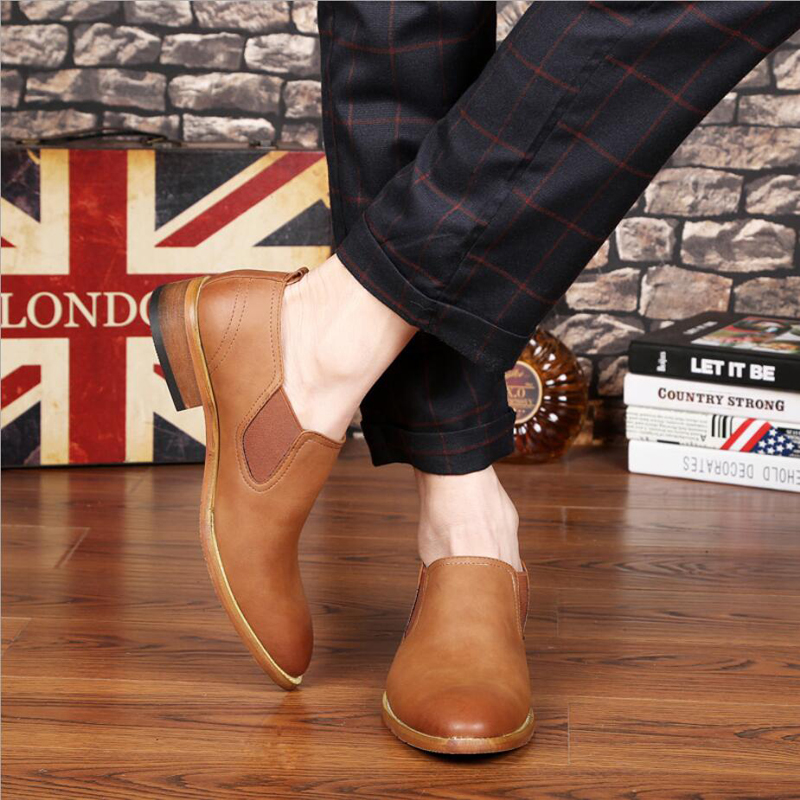 Mens Leather Casual Shoes' Wedding Shoe Office Casual Leather Shoes Men Slip-On Men Loafer Shoes High Quality Cow Leather Loafer jiabaisi fashion casual design leather loafer comfort men s shoes jsb170314002
