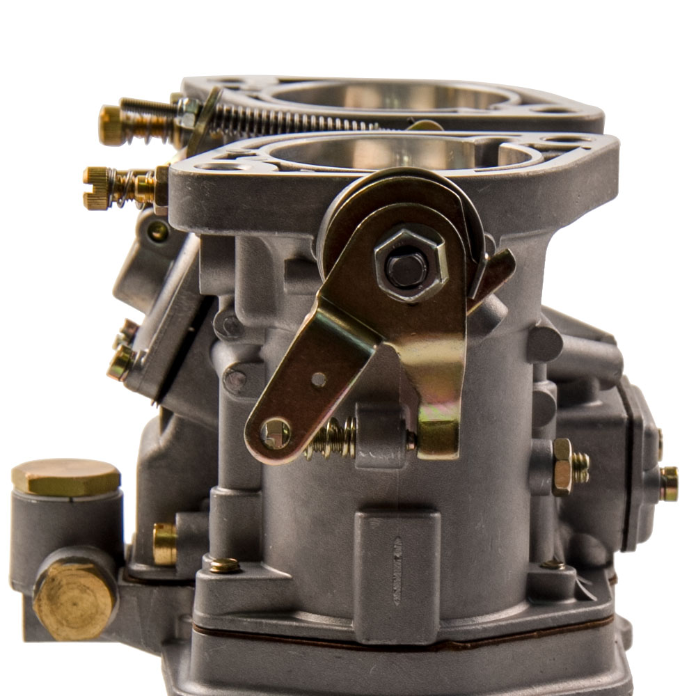 Carby Type Fit Weber 48idf 48 Idf Carburetor With Chrome Air Horns Bmw 325i Horn Location For Vw Volkswagen Bug Beetle In Fuel Supply Treatment From Automobiles Motorcycles On