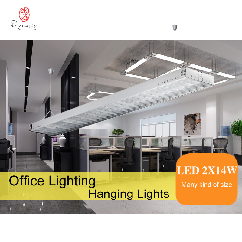 Aluminum Hanging Lights Contemporary Office Pendant Lights T5 Tube Reflector LED DIY Connection Fitness Club Restaurant LightingAluminum Hanging Lights Contemporary Office Pendant Lights T5 Tube Reflector LED DIY Connection Fitness Club Restaurant Lighting