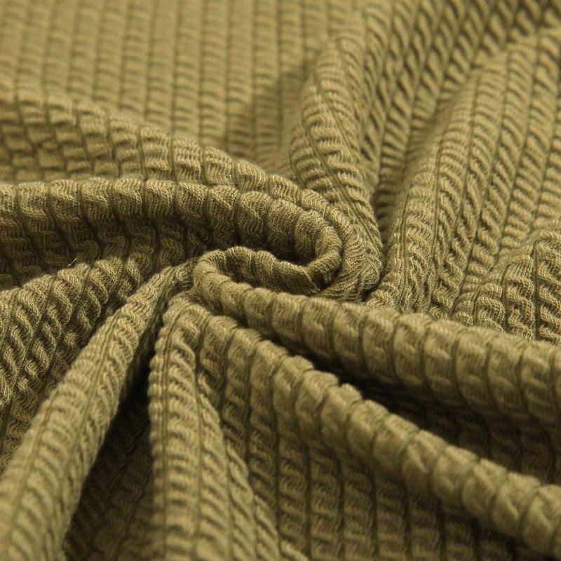 Housse de canapé en coton tricoté Svetanya housse de canapé tout compris pour canapé de forme différente couleur unie de haute qualité-in Housse de canapé from Maison & Animalerie    3