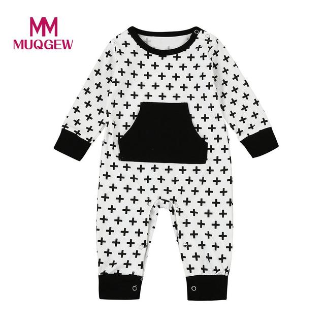 dd6b1fcea9 MUQGEW Baby Rompers Newborn Toddler Baby Boys Girls Cross Print Romper  Jumpsuit Outfits Clothes Romper Jumpsuit Sunsuit Set