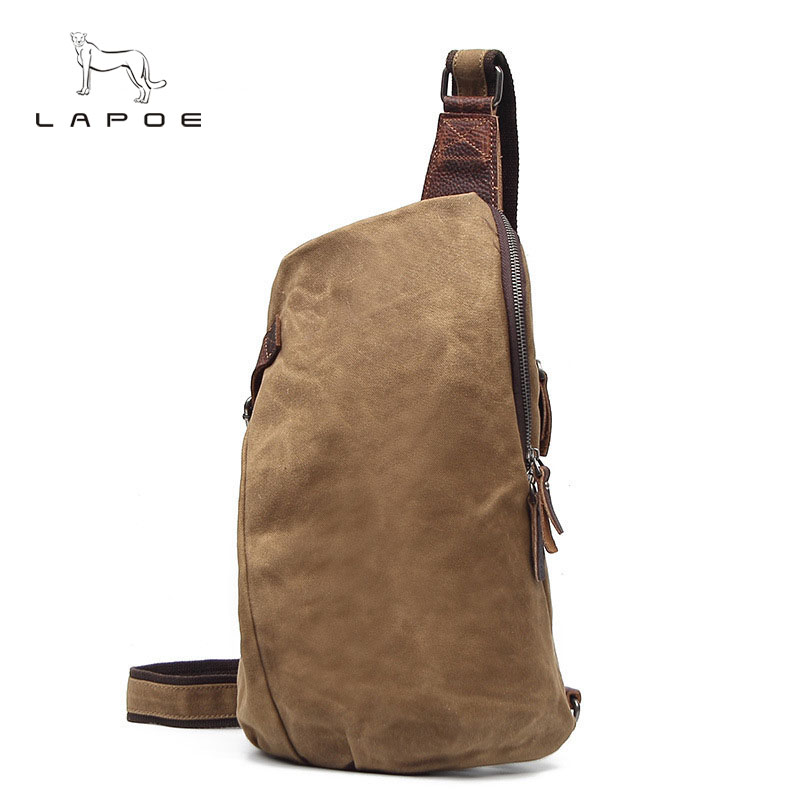 Hot New Chest bags fashion men Canvas shoulder Messenger bag Men Casual Crossbody bags high quality shoulder Phone Small bag augur new men crossbody bag male vintage canvas men s shoulder bag military style high quality messenger bag casual travelling