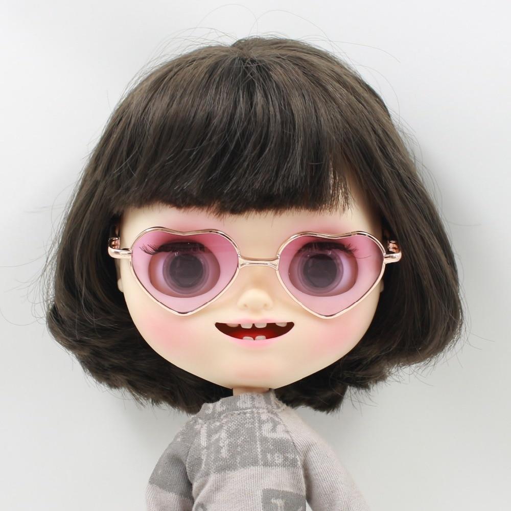 Neo Blythe Doll Heart Shaped Glasses 9