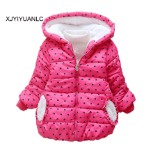 Baby Girls Warm Jacket Children Outerwear Winter Baby boys Hooded Jackets For Toddler Coats Kids Thick Jackets For Girls Clothes