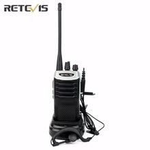 Walkie Talkie Retevis RT7 3W UHF400-470MHz FM CTCSS/DCS Portable Amateur Two Way Radio Transceiver FM Radio(88-105MHz) Station
