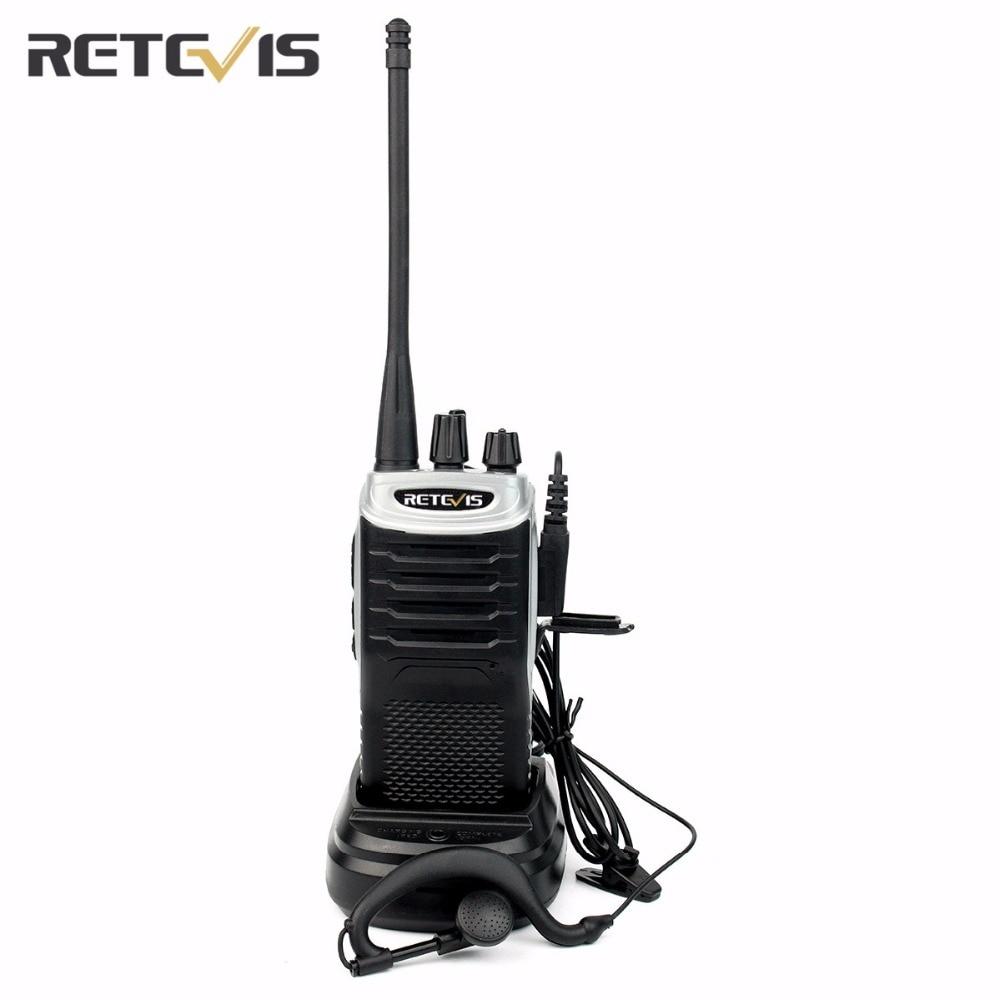 bilder für Walkie Talkie Retevis RT7 3 Watt UHF400-470MHz FM CTCSS/DCS Tragbare Amateur Zweiwegradio Transceiver FM Radio (88-105 MHz) Station