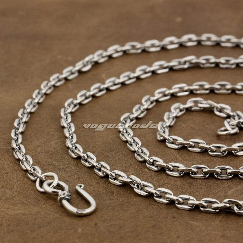 цена на LINSION 4mm Square link Chain 925 Sterling Silver Pendant Matching Necklace 8L010 Length 18 to 36 Inches Available