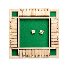 Четырехсторонние флоп игры цифровая игра игрушки детские развивающие Родитель-ребенок настольные игры бар вечерние повседневные азартные игры