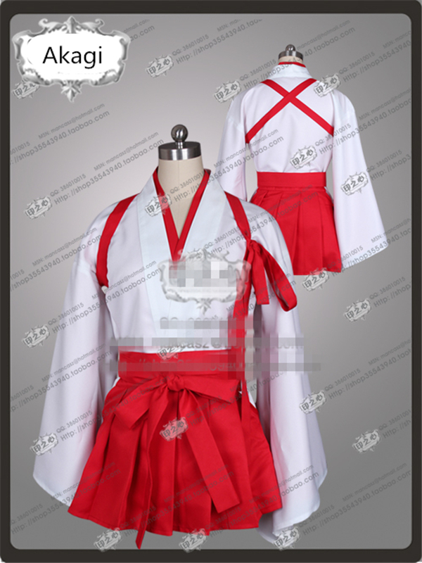 Japanese Anime Kantai Collection Akagi Cosplay Costume red and white dress traditional kimono W belbi new luxury watch men stainless steel mesh ultrathin dial casual quartz wristwatch ladies popular fashion banquet clock