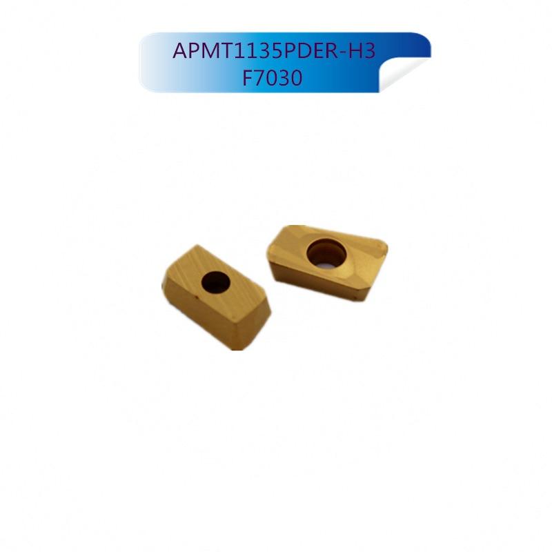 10Pcs Mitsubishi APMT1135PDER H3 F7030 Internal Turning Tools Carbide inserts Cutting Tool CNC Tools Lathe tools