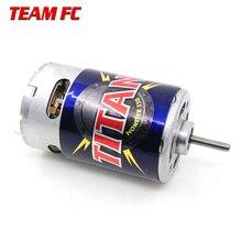 Motor Titan de 21 vueltas, 3975 21T, 550 voltios, refrigerado por ventilador hacia adelante y hacia atrás para camión monstruo e revo e maxx 14,4, F128 para TRX4 S245, 1/10