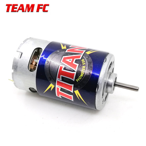 Image 1 - Motor Titan de 21 vueltas, 3975 21T, 550 voltios, refrigerado por ventilador hacia adelante y hacia atrás para camión monstruo e revo e maxx 14,4, F128 para TRX4 S245, 1/10