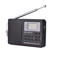 Centechia Portable Digital World Full Band Radio Receiver AM/FM/SW/MW/LW Radio with External Antenna Dropshipping