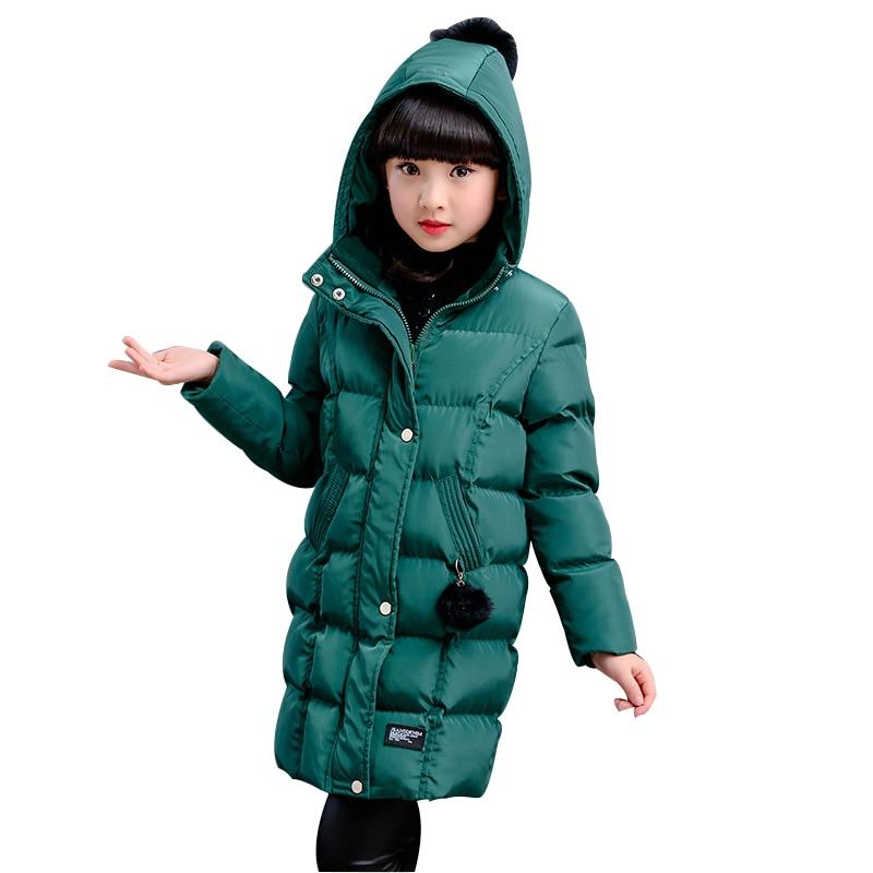 pretty nice 966c4 b8ce9 Rlyaeiz 2018 Inverno Giubbotti Per Le Ragazze Coreane di Modo di Colore  Puro Delle Ragazze Parka Cappotti Caldo di Spessore della ragazza di ...