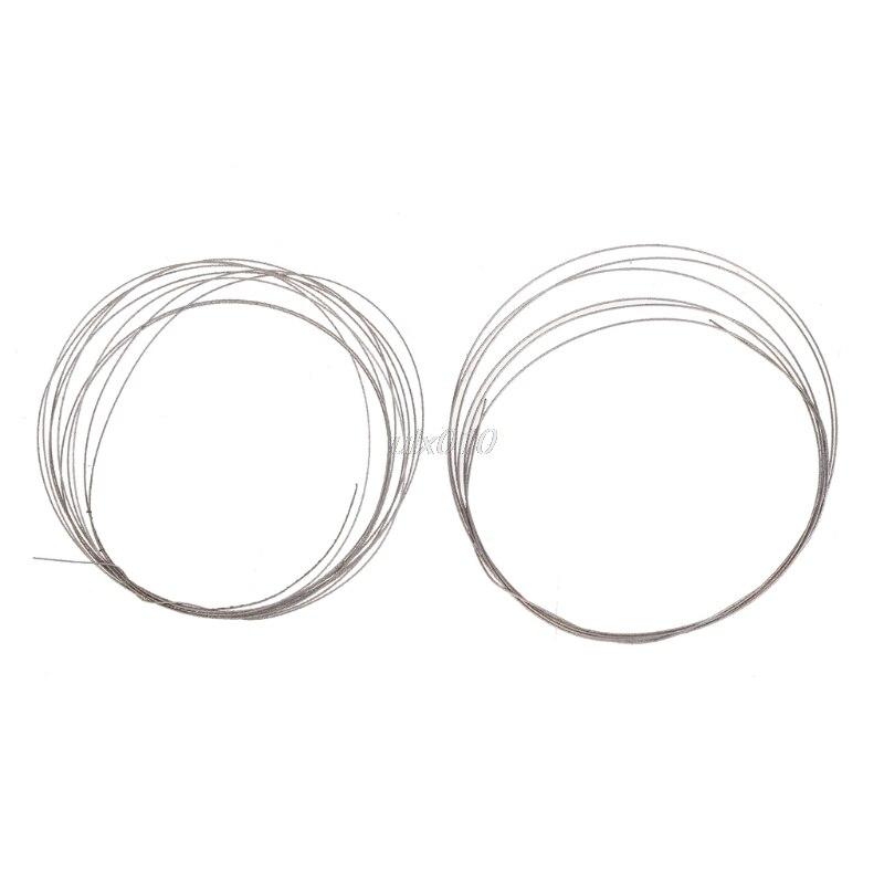1 м 0,26/0,38 мм пилы металлический провод для алмазной огранки Нефритового стекла DIY резки июля Оптовая и Прямая поставка