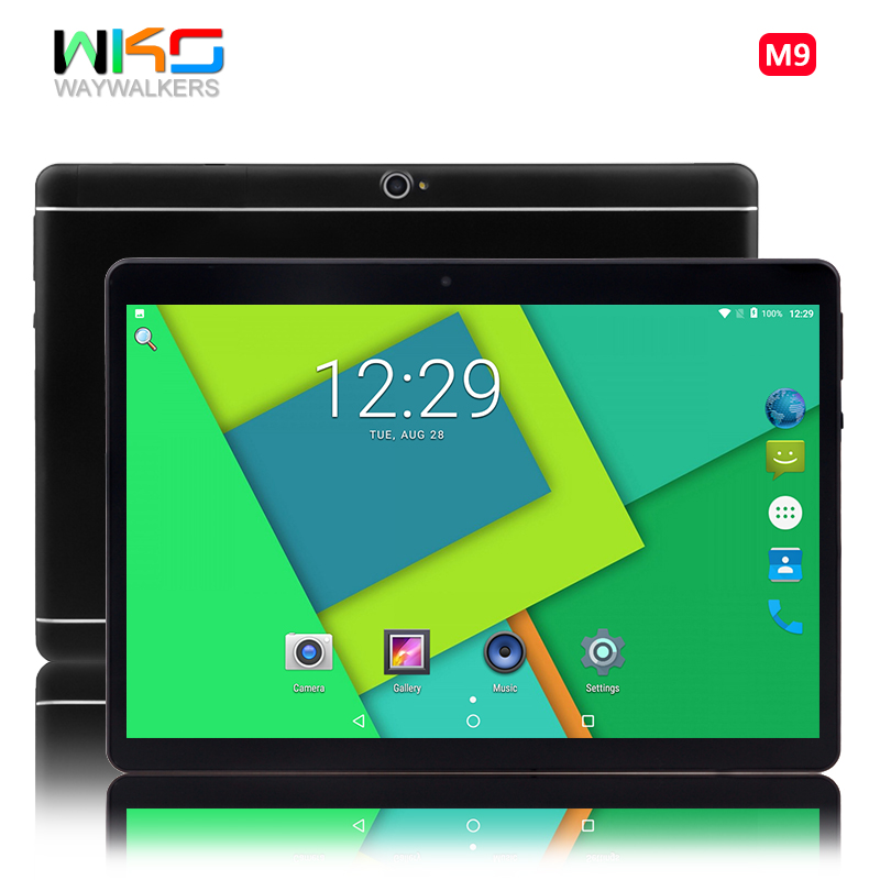 Google certification Tablet PC 10.1 inch 4GB RAM 32GB ROM Octa Core Android 6.0 tablets 3G 4G LTE smartphone Tablets WIFI SIM цена