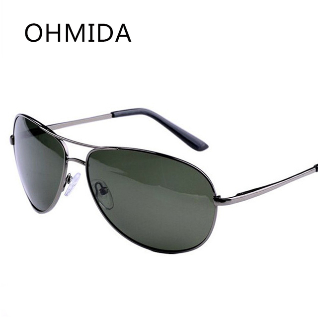OHMIDA Top Polarizada Óculos De Sol Dos Homens Retro Óculos Esporte Marca  Designer Vintage Óculos oculos 58543371c9
