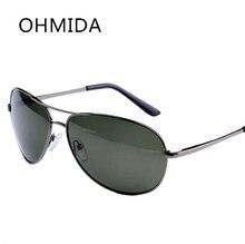 OHMIDA Top Polarizado gafas de Sol de Los Hombres Retro Gafas Deportivas gafas de Diseñador de la Marca de La Vendimia Gafas gafas de sol Gafas Masculino Masculino