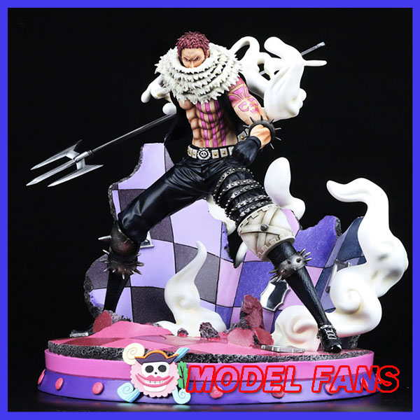 все цены на MODEL FANS INSTOCK One Piece JZ Big Mom Pirates Dessert four star Charlotte Katakuri gk resin statue figure for collection