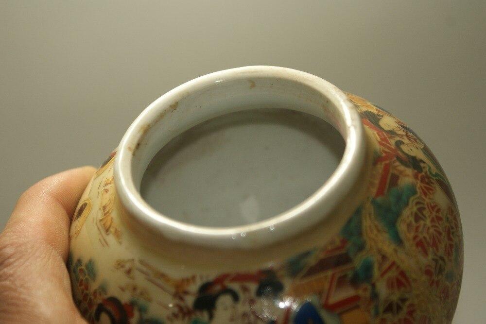 Fine Old Chinese porcelain painted Glaze Porcelain jars pots classic art collect