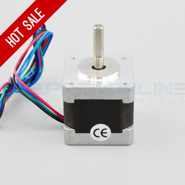 Nema 14 Stepper Motor 34mm 18Ncm(25.5oz.in) 0.8A 4-lead Nema14 Step Motor for 3D Printer Prusa Makerbot Reprap CNC Robot