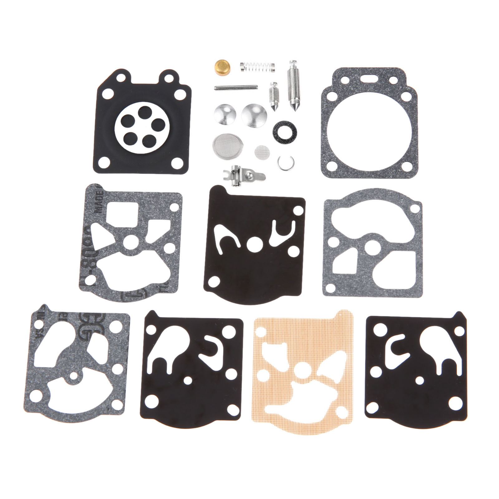 DRELD Carburetor Rebuild Kit for Walbro WT-669 WT-626 WT-274 WT-775 K24-WAT Carb String Trimmer Brush Cutter Chainsaw Parts