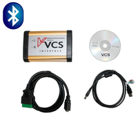 2014 Bluetooth Version Universal VCS Vehicle Communication Scanner VCS Scanner Interface Free Shipping By DHL