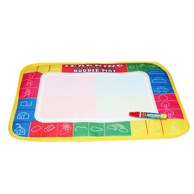 New Water Drawing Painting Writing Mat Board Magic Pen Doodle Gift 29X19cm Kid Children Child Creativity  Imagination Education