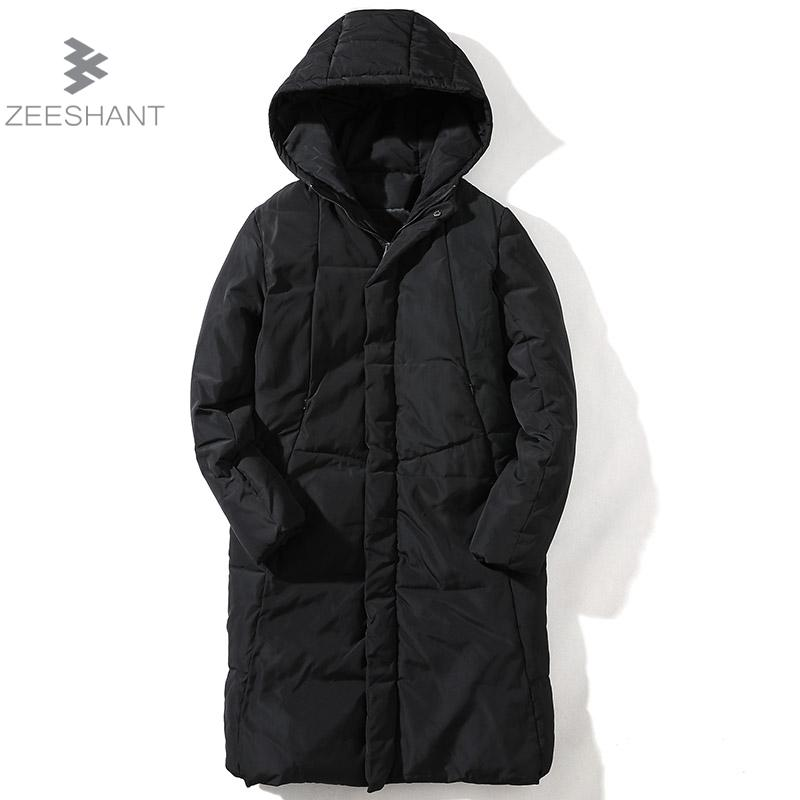 ZEESHANT Winter Men's Jacket Brand Clothing Mens Jackets Men's Casual Coats Thick Parkas Men Outwear 4XL 5XL Hoodie Jacket