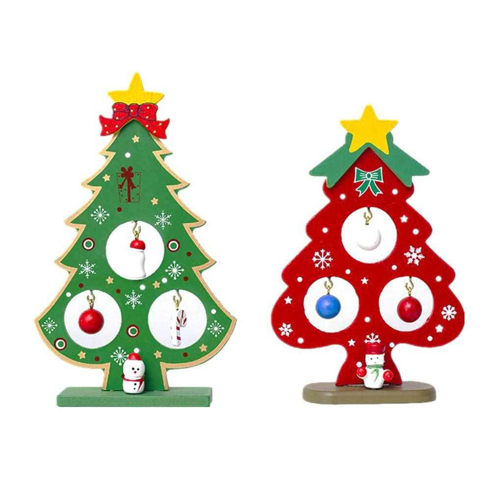 new year small christmas tree ornaments for party decoration christmas various style tag christmas wooden card pendant j3 in pendant drop ornaments from - Small Christmas Tree Ornaments