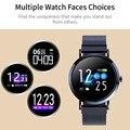 696 CV08C Mode Smart Uhr Bluetooth Sport Armband Blutdruck herz Rate Messung Tracker für Android IOS PK Q8 band-in Smart Watches aus Verbraucherelektronik bei
