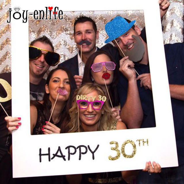 JOY ENLIFE Heureux 30 40 50 Ans Booth Props D