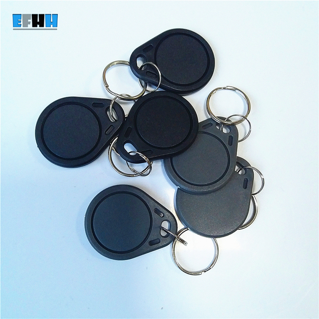 13.56Mhz UID Changeable MF 1K S50 NFC Keyfob RFID Key Fob Clone Copy Blank Card UID Rewritable Magic NFC Card Back Door Libnfc